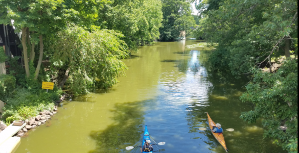 Photo of the Mystic River taken by Andy Hrycyna on July 7, 2017
